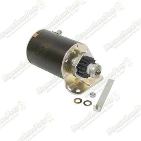 Electric Starter electric starter briggs stratton 795121