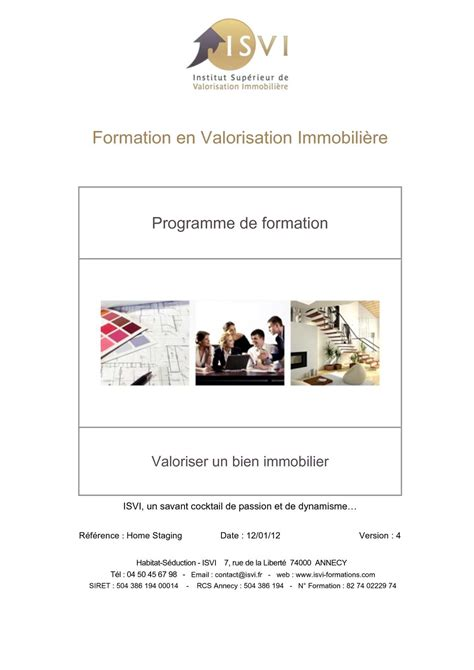 Home Staging Annecy by Calam 233 O Programme Formation Home Staging