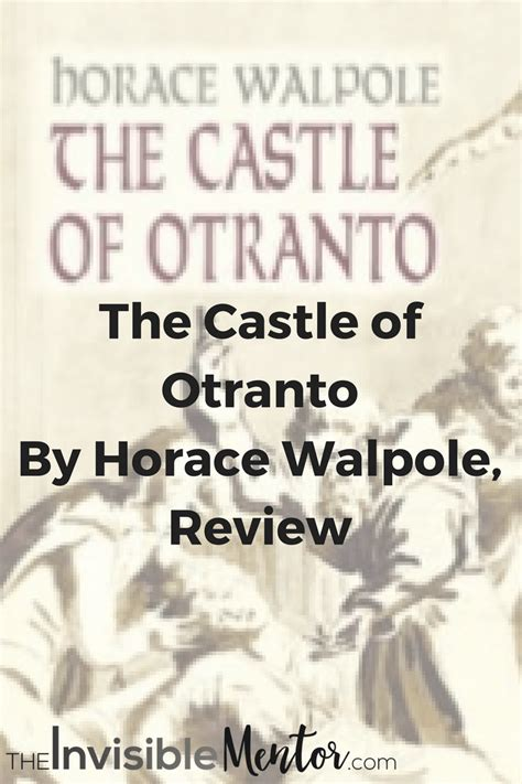 the castle of otranto elements the castle of otranto by horace walpole review theclassics