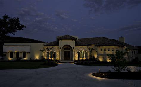 Architectural Landscape Lighting Exterior Architectural Lighting Color Changing Led Oaklawn Designed Implemented By I 5 Design