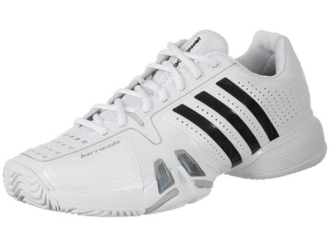 s adidas adipower barricade 7 0 tennis shoes white