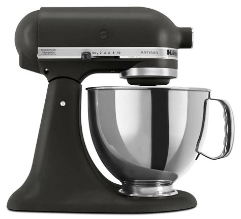 kitchenaid stand mixer tilt  quart rrkbk artisan  sp imperial black  ebay
