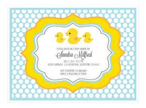duck baby shower invitation ducky baby shower invitations gangcraft net
