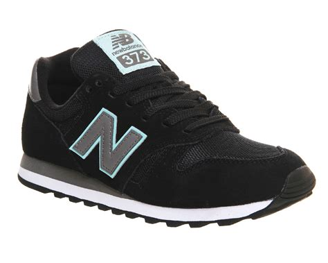 Black New Balance new balance ml373 trainers in black lyst