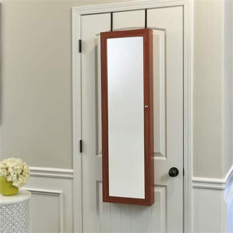 hanging armoire mirror hanging mirrored jewelry armoire architecture