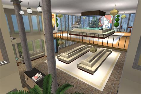 Split Bedroom House Plans mod the sims bainbridge place based on russell