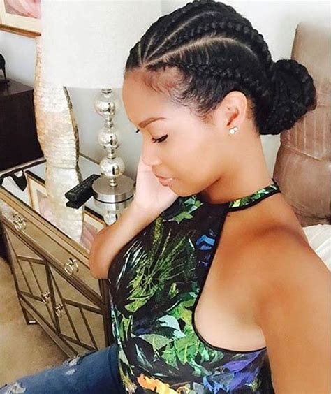 black natural hair dos with cane rows 31 stylish ways to rock cornrows page 2 of 3 stayglam
