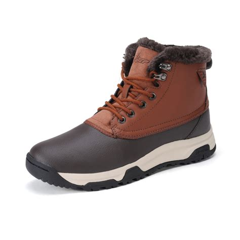 mens sneaker boots xtep shoes winter thermal outdoor hiking climbing