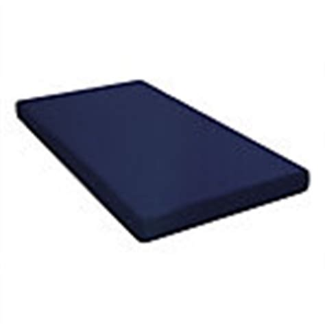 Dhp 6 Inch Twin Quilted Top Bunk Bed Mattress Navy Blue 6 Quilted Top Bunk Bed Mattress