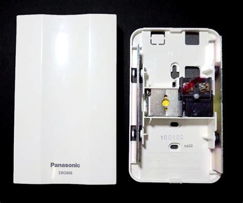 Bel Pintu Chime Wireless jual receiver bel chime panasonic ebg888 ding dong door