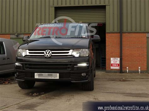 t5 led retrofit l vw transporter drls led oem look