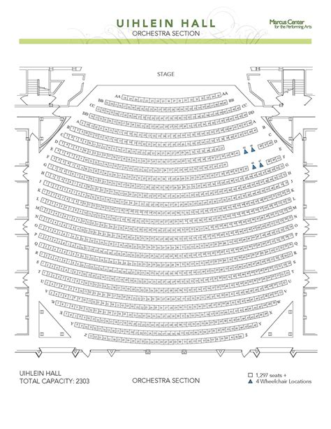 orchestra section seating wicked seating chart milwaukee bmo harris bradley center