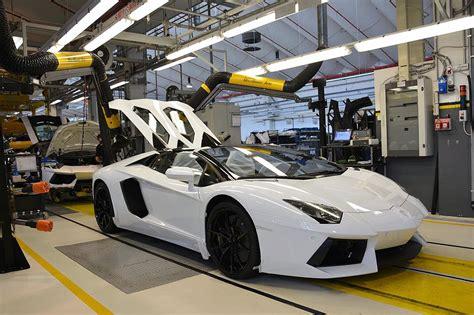 Lamborghini Aventador Production Factory Visit To The Lamborghini Huracan Production Line