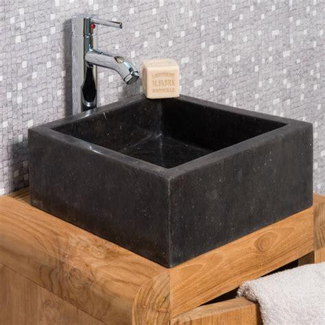 Superbe Salle De Bain Parement #2: ori-vasque-salle-de-bain-en-marbre-milan-noir-30cm-508.jpg