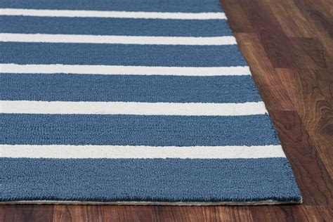 simple pattern area rugs azzura hill simple stripe pattern area rug in marine blue
