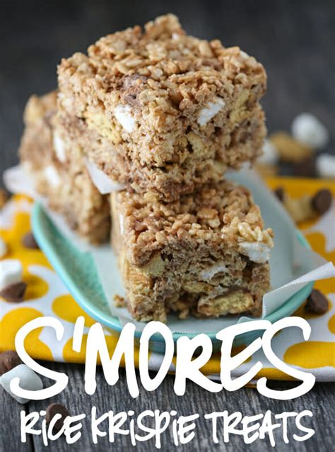 best marshmallows for s mores s mores rice krispie treats our best bites