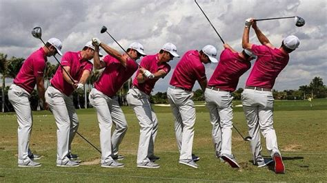 justin rose swing analysis justin rose and kiradech aphibarnrat swing comparison
