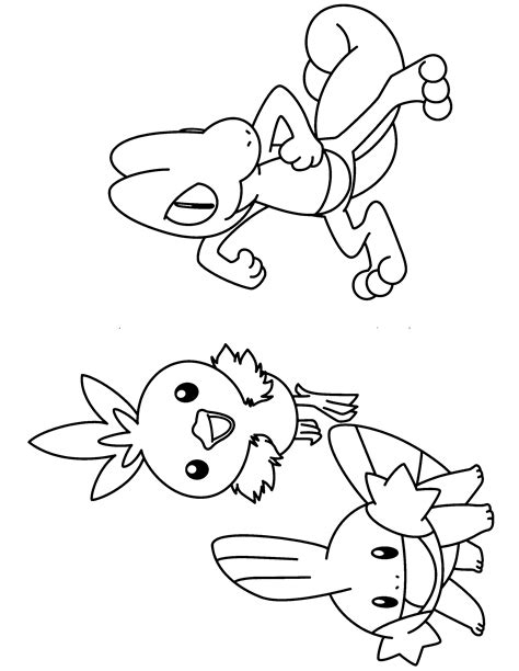 pokemon coloring pages torchic pokemon advanced coloring pages picgifs com