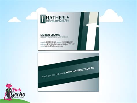 card supplies perth business cards perth with free delivery pink gecko web