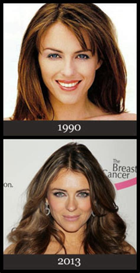Elizabeth Hurley Faces Time Hollyscoop by Secrets How They Stay And Beautiful