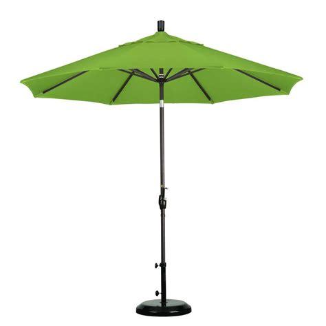 California Umbrella 9 Ft Aluminum Push Tilt Patio Patio Umbrellas That Tilt