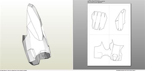 iron foam templates foamcraft pdo file template for iron pepper potts