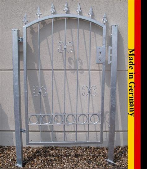 Gartentor Metall Verzinkt gartentor hoftor bogentor verzinkt 100cm breit 150cm