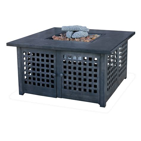 Cheapest Uniflame Corporation Lp Gas Fire Pit Table Lp Gas Firepits