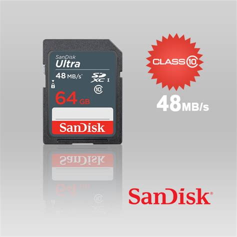 Sandisk Sdhc Ultra 64gb 48mb by Sdsdunb 064g Sandisk 64gb Sdhc Class 10 Ultra 48mb S