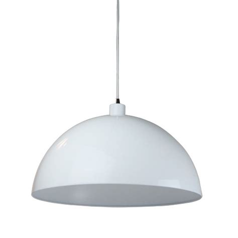 white dome pendant light helios dome pendant light in white temple webster