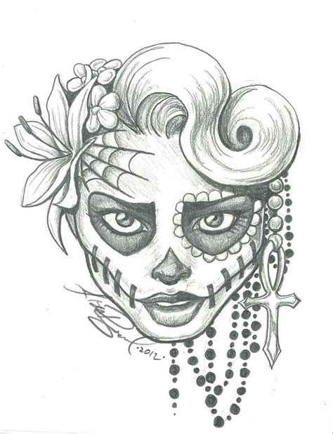 sugar skull tattoo designs tumblr best 25 sugar skull drawings ideas on sugar
