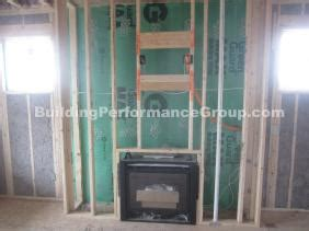 cold air coming from fireplace building performance