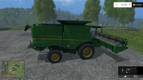 new john deere combine developments for 2015 john deere s660 combine v1 0 fs 2015 mod download