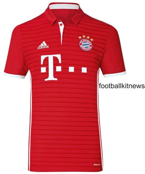 Jersey Bayern Munchen Home Go New Season 2017 18 Grade Ori new bayern munich kit 2016 17 adidas fc bayern home jersey 16 17 football kit news new