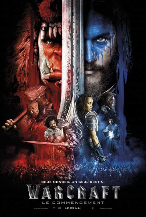 film bioskop world of warcraft d 233 couvrez la toute derni 232 re affiche du film warcraft