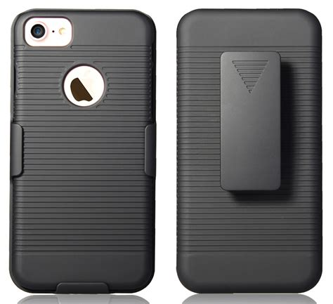 Hardcase Armany Stand Iphone 5 82xoxo black rubberized cover belt clip holster w stand for apple iphone ebay