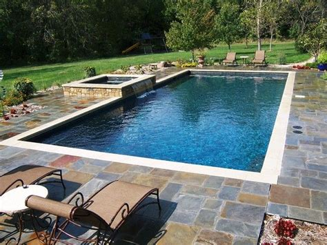 square swimming pool 25 best ideas about rectangle pool on pinterest