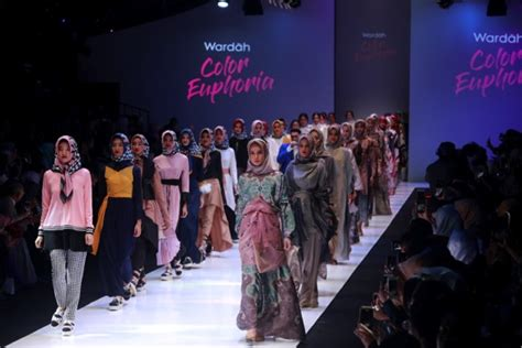 Makeup Wardah 2018 wardah unveiled their newest make up collection in jfw 2018