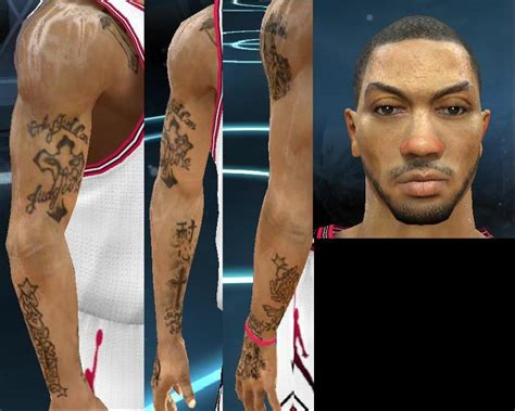 derrick rose new tattoo derrick tattoos www pixshark images galleries