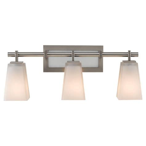 Feiss Bathroom Lighting Feiss Concord 2 Light Brushed Steel Vanity Light Vs19702 Bs The Home Depot