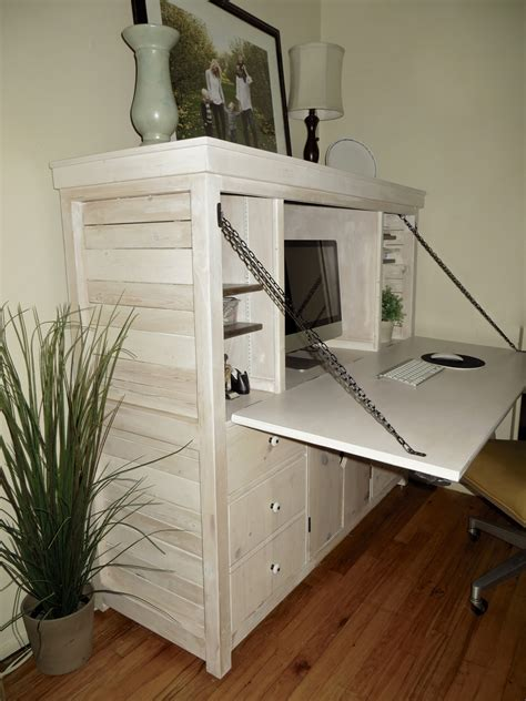 Diy Desk Hutch White Drop Hutch Desk Diy Projects