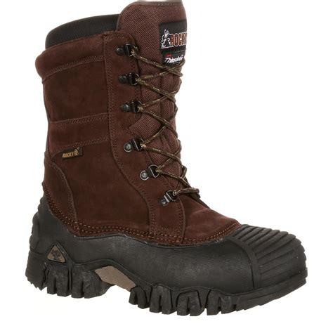rocky jasper trac s insulated waterproof outdoor boot