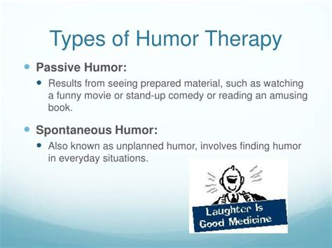 purpose of therapy ppt humor therapy powerpoint presentation id 2715119