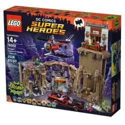 lego unveils lego dc comics batman classic tv series batcave
