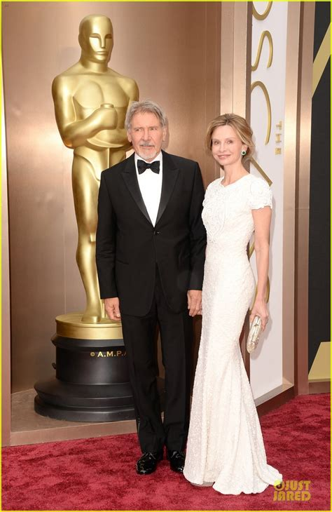 Oscars Carpet Calista Flockhart by Sized Photo Of Harrison Ford Calista Flockhart Oscars