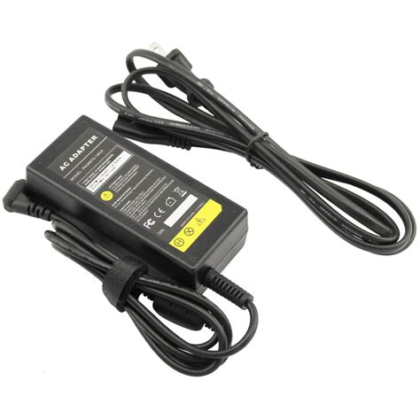 65w ac adapter for toshiba satellite l655 s5153 laptop charger power supply cord ebay