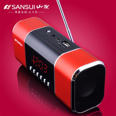 Mini Speaker Mp3 Player landscape mini stereo portable radios card mp3 player with loud speaker in speakers