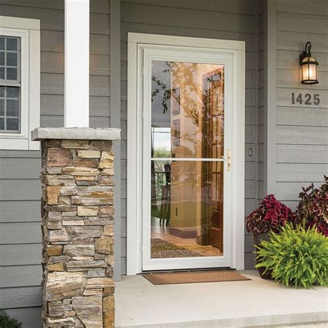 pella retractable screen door retractable screens storm doors and safety on pinterest