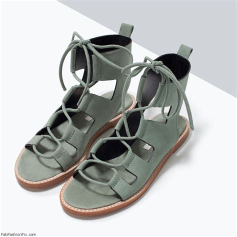 zara lace up sandals zara leather sandal suede leather flat sandals