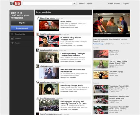 how to get new youtube homepage design right now askvg get the new experimental youtube with this cookie trick